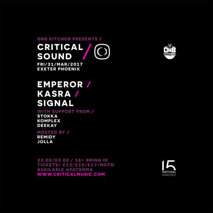 Critical Sound Exeter