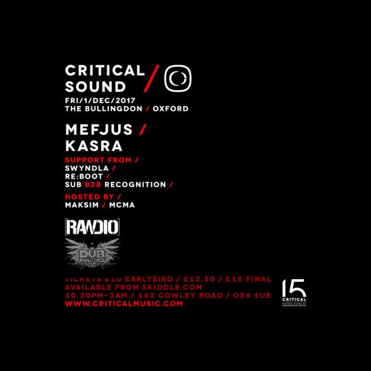 Critical Sound Oxford