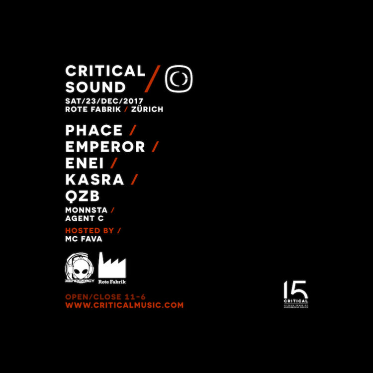 Critical Sound Zurich