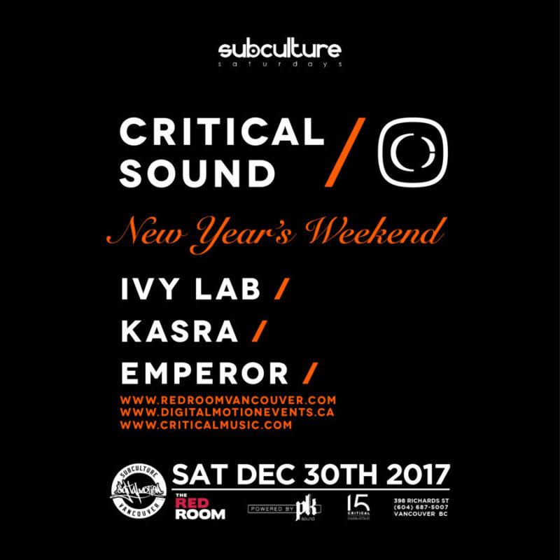 Critical Sound Vancouver