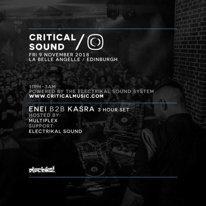 Critical Sound Edinburgh