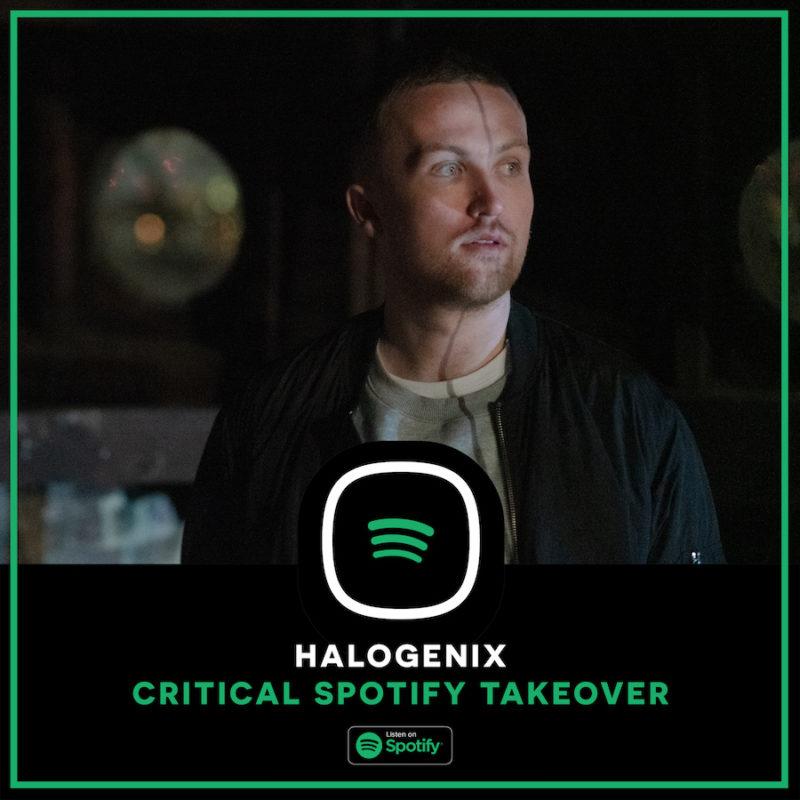 Spotify Takeover – Halogenix