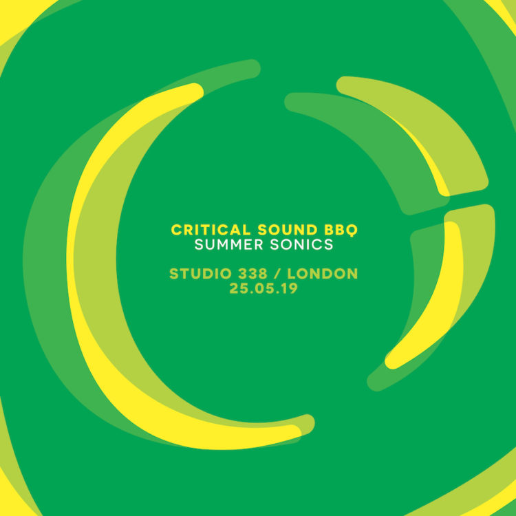 Critical Sound – Studio 338 Summer Sonics Announced