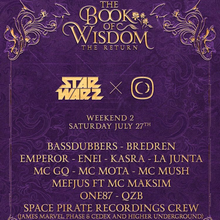Tomorrowland x Star Warz x Critical Sound