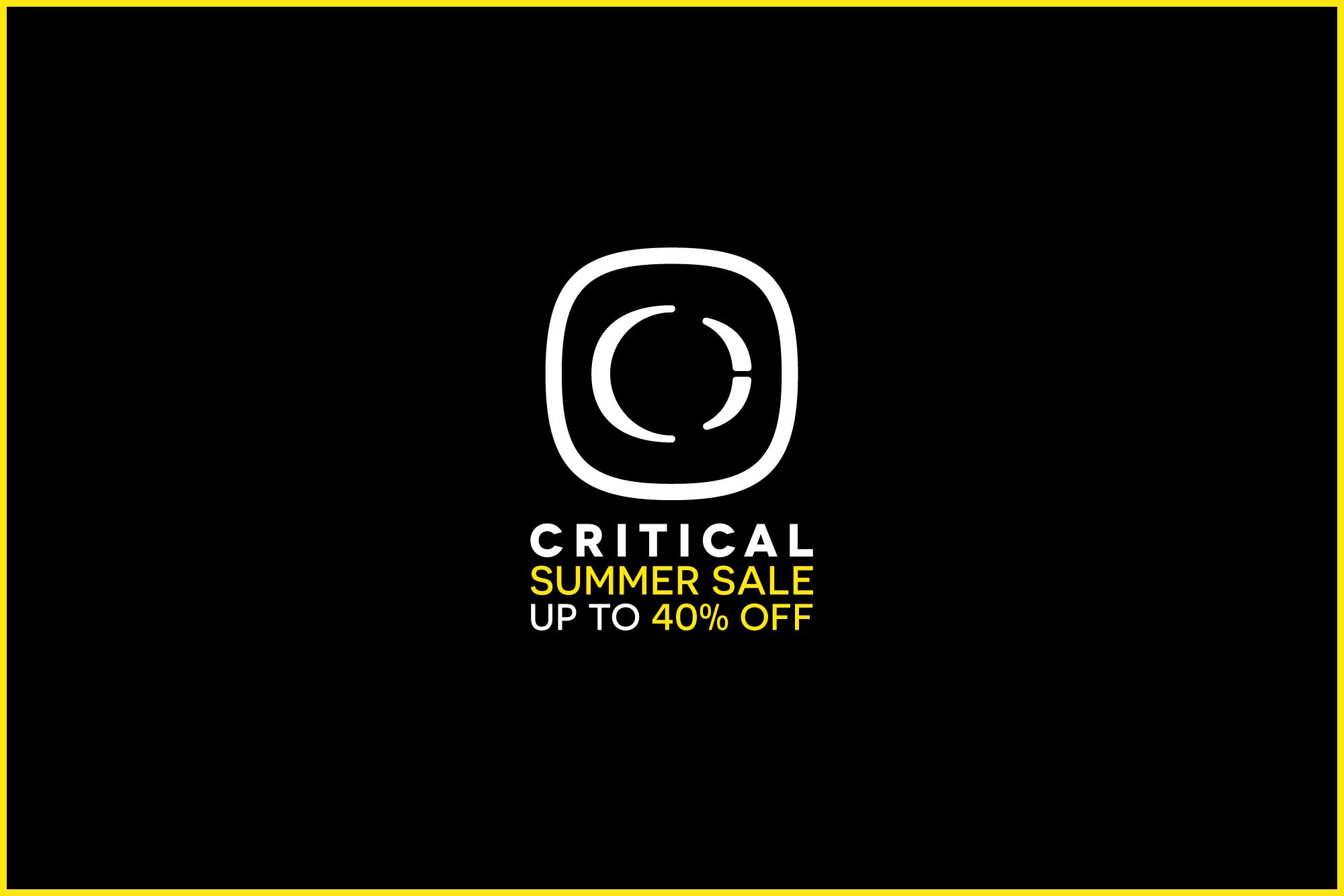 Critical Music · Underground Sonics Since 2002