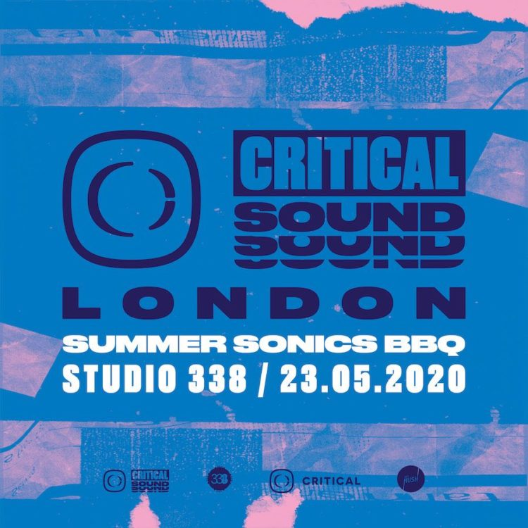 Critical Sound – Summer Sonics BBQ